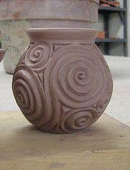 Creative And Inexpensive Ideas: Ceramic Vases Design vases design modern.Vases Vintage Mccoy Pottery vases crafts how to make.Vases Crafts How To Make. Pottery Sculpture, Pottery Vase, Ceramic Pottery, Slab Pottery, Ceramic Sculptures, Ceramic Techniques, Pottery Techniques, Ceramic Clay, Ceramic Vase