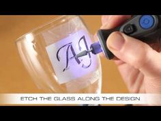 See how to etch glass with a Dremel rotary tool. Want to create your own designs in glass? Then all you need is a Dremel rotary tool. For this craft project ...
