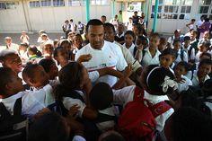 Craig David visits Heideveld school, Cape Town by Stop TB Partnership, via Flickr Craig David, The Time Is Now, Cape Town, Jokes, Feelings, School, Beauty, Husky Jokes, Memes
