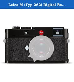 Leica M (Typ 262) Digital Rangefinder Camera (Black Body Only). Purveying the essence of rangefinder photography, the M (Typ 262) signals Leica's commitment to simple, straight photography while still incorporating contemporary qualities for refined image-making. Revolving around a full-frame 24MP CMOS sensor and Maestro image processor, the Typ 262 omits now-conventional video and live view features to produce a stills-only camera capable of shooting at up to 3 fps with sensitivities up…
