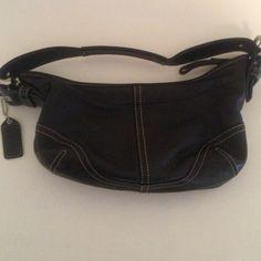 Small coach purse 100% authentic leather coach purse Coach Bags