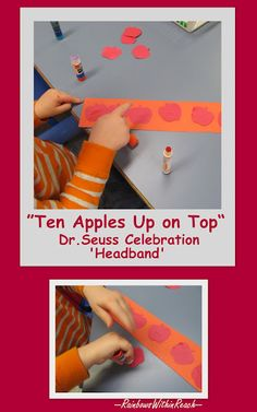 "Dr. Seuss: ""Ten Apples Up on Top"" Headband"