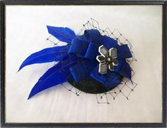 MINI HAT FASCINATOR- Made to Order for Ascot - Wedding   Our products   Our galleries   Indigo Daisy Weddings   BT Tradespace
