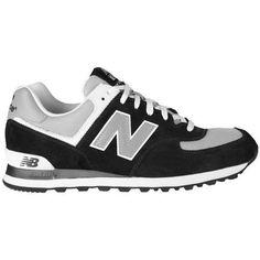 new balance 574 noir et blanche