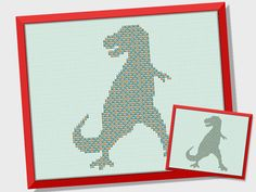 Hey, I found this really awesome Etsy listing at http://www.etsy.com/listing/113722573/t-rex-silhouette-cross-stitch-pattern