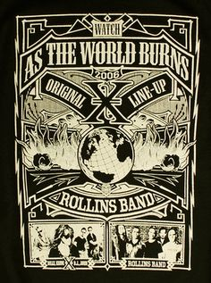 X (The Band)- With Rollins Band