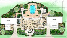 Cartagena House Plan - First Floor