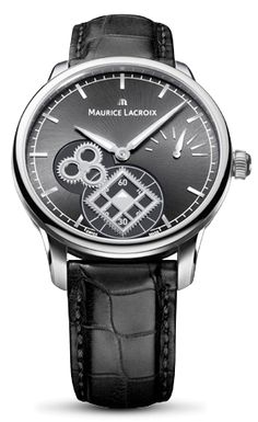 A watch without a dial? The Masterpiece Square Wheel does not follow convention. It dispenses with a normal dial, instead revealing the move- ment bridge, effectively the chassis of the movement within.  The stainless steel case, measuring 43mm in diameter, provides the opti- mum size for the depiction of time, ensuring...