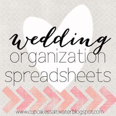 the BEST wedding planning resource out there! easily keep track of guests, gifts, addresses, rsvps, spending, to do's and everything else! downloadable in excel or numbers