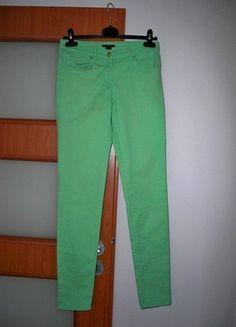Kup mój przedmiot na #vintedpl http://www.vinted.pl/damska-odziez/dzinsy/15382162-jasny-zielen-swietne-spodnie-hm-rozmiar-36