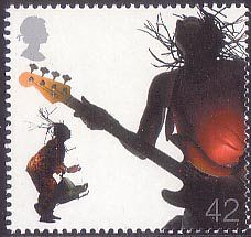 Sounds of Britain 42p Stamp (2006) African and Caribbean