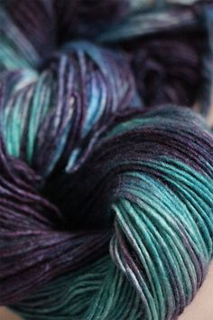Silky Merino Yarn from Malabrigo in Caribeno