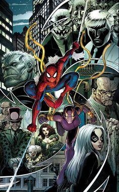 Amazing Spider-Man #16.1 cover by Arthur Adams.