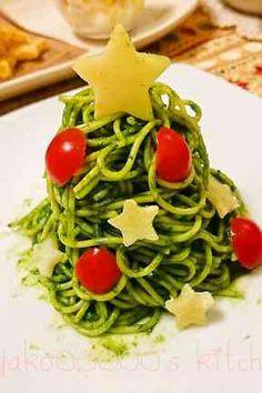 Christmas spaguetti