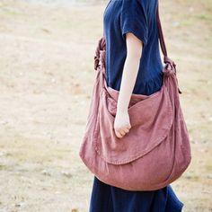 Handmade Canvas Handbag