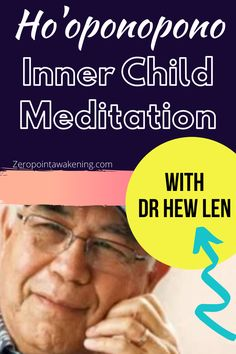 Dr Hew Len Inner Child Meditation with introduction to the inner child concept in Ho'oponopono I'm sorry, Please Forgive me, Thank You, I love You. #innerchildhealing #hooponopono #meditationbenefits #healing #hawaiian Inner Child Healing, I Love You, My Love, Meditation Benefits, Lens, How To Remove, Knowledge, Children, Young Children