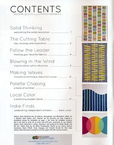 Modern Quilts Illustrated #3 [2MG-ModernQuiltsIll-03] - $13.95 : Pink Chalk Fabrics is your online source for modern quilting cottons and sewing patterns., Cloth, Pattern + Tool for Modern Sewists