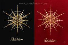 Hochwertige #Stickerei des Kristalls #Reichtum
