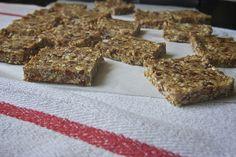 maple cashew oatmeal squares