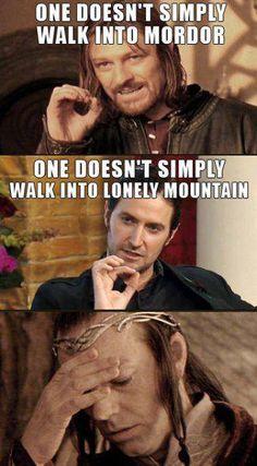 lol la faccia di Elrond è tutto un programma...ahahahaha