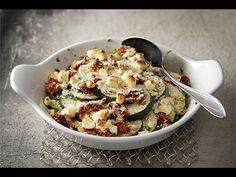 Pokrm vhodný jako hlavní chod např. s pečivem, nebo jako příloha k masu, nebo rybám.