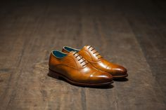 Dominique Saint Paul - classic Oxford shoes do double duty for business and casual.