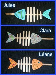 Poisson d'avril 2016 Plus Fish Activities, Montessori Activities, Art For Kids, Crafts For Kids, Arts And Crafts, Paper Quilling Tutorial, Fish Crafts, Creative Pictures, Fish Design