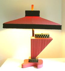 Over the top table lamp