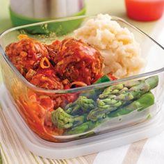 Boulettes de veau et porc, sauce à l'italienne - Recettes - Cuisine et nutrition - Pratico Pratique