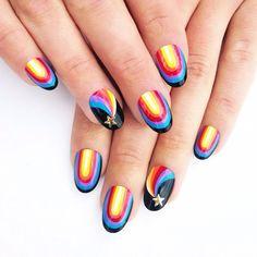 Instagram photo by @ theillustratednail  #nail #nails #nailart
