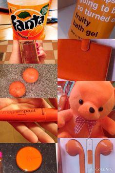 Orange (blandfärg)