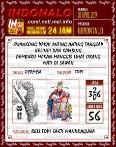 Syair Kuat 5D Togel Wap Online Indonalo Gorontalo 30 April 2017