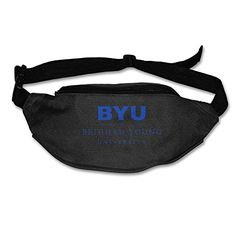 GHJK UnisexAdult BYU Brigham Young University Walking Waist Bag Pack Black -- Find out more about the great product at the image link.