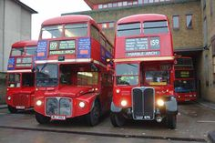 routemaster bus interior - Google Search