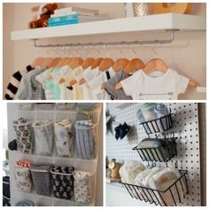 15 Nursery Organization Ideas