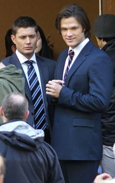 Jared Padalecki Photo - 'Supernatural' Stars on Set