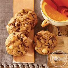 Chocolate Orange #Macadamia #Cookies from Pillsbury® Baking