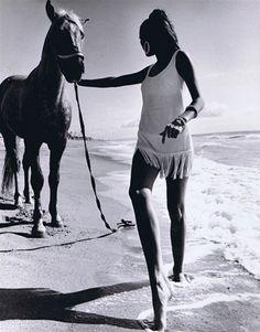 Malibu, California, 1964, photographed by  Edward Pfizenmaier