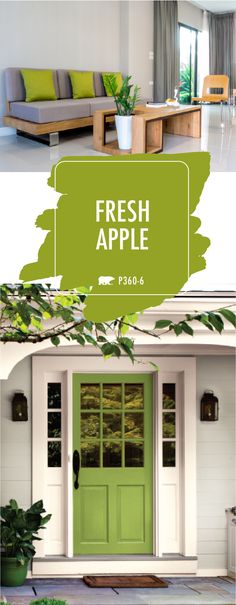 No matter what your personal design style is, Fresh Apple has you covered. This colorful green hue is BEHR's Color of the Month for March for a reason! Use this playful spring shade as an accent color in your home to create a bold, modern look. You can even paint your front door to give the exterior of your home a pop of bright color. Click here for more design inspiration.