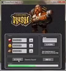 throne rush hack 2014
