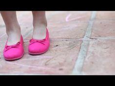 4d57ee2f5aa Bailarinas Manoletinas de Tela - Lonas para Niñas y Mujer Zapatos Pisamonas
