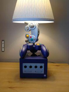 Nintendo Game Cube Desk Lamp Light--interesting...