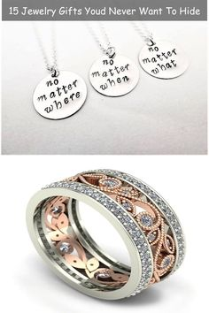 15 Jewelry Gifts Youd Never Want To Hide Jewelry Stores, Jewelry Gifts, Gems, Wedding Rings, Engagement Rings, Canning, Fashion, Enagement Rings, Moda