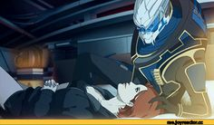 Mass Effect,фэндомы,ME gif,Femshep,ME персонажи,Garrus,wei723