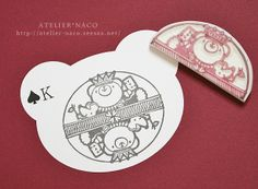 by atelier*naco ©♥ Rubber Stamp                                                                                                                                                                                 もっと見る