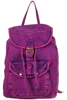 overdye denim backpack - topshop