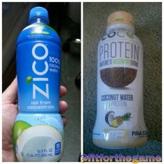 Coconut Water. https://fitnessforthegame.wordpress.com/2014/10/02/the-battle-for-electrolytes/ #ShopSunday