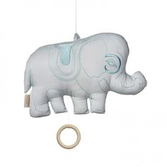 Elephant Music Mobile Dark Green  click image to purchase