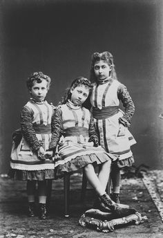 Louise, Victoria and Maud of Wales, the three daughters of King Edward VII and Alexandra of Denmark. Maud Of Wales, Princess Alexandra Of Denmark, Victoria's Children, Queen Victoria Children, Princesa Victoria, Royal Families Of Europe, Princess Louise, Royal Collection Trust, King Edward Vii