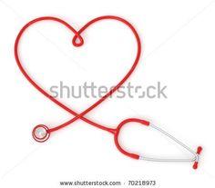 Nurse Tattoo Medical Symbol | Valentine: 3d heart-shaped stethoscope | Valentine-Photos.com